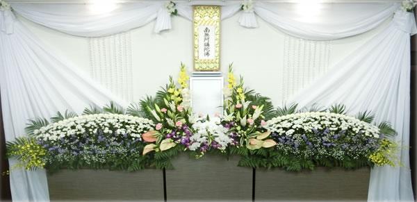 やまぶき葬花祭壇