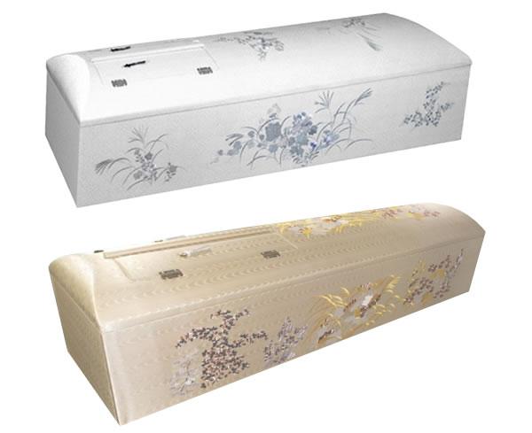 高級刺繍棺