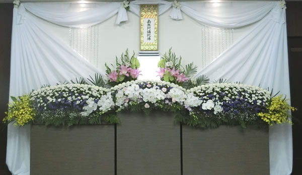 松かぜ葬花祭壇 花祭壇